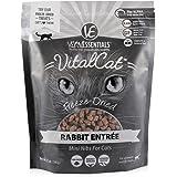 Vital Essentials Vital Cat Freeze-Dried Rabbit Mini Nibs Food for Cats 12 Ounce