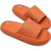 JIASUQI Slippers for Women Men Shower Quick Drying Bathroom Sandals Open Toe Soft Non-Slip Massage Pool Gym House…