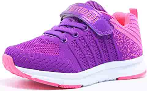 Girls Boys Sports Shoes Kids Fur Lined Trainers Children School Shoes UK Size
