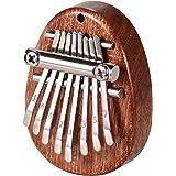 Kalimba 8 Clés Pouce Piano, Instrument de musique Thumb Piano, Mini Kalimba Pour Enfant, Débutant, Cadeau Anniversarie Enfant