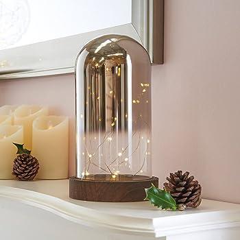 ledmomo lumi res de d me en verre lampe de table de nuit. Black Bedroom Furniture Sets. Home Design Ideas