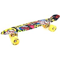 Prokick Skateboard with Flashlight Wheels