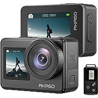 AKASO Action Cam 4K 20MP WiFi Action Kamera IPX8 Wasserdicht Unterwasserkamera EIS 2.0 mit Touchscreen 4X Zoom…