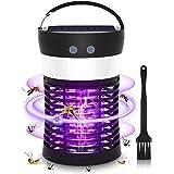 Muggen Killer Lamp, HISOME Zonne Aangedreven/USB Elektrische Vliegmoordenaar, Waterdicht Oplaadbare Bug Zapper met Camping La
