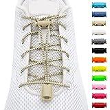 BENMAX SPORTS Schnürsenkel ohne Binden - Elastische Gummi Schuhbänder, Elastisch Schnellverschluss Elastic Shoelaces…