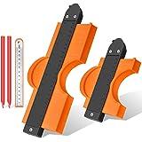 Replicatore Di Contorno, JUEMEL 250mm/12mm Contour Duplicator Gauge con Serratura, per la Misurazione del Profilo Strumento d