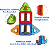 FLYING START Magna Blocks Building STEM Construction Toys (40 Pcs)