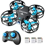 SNAPTAIN H823H Mini Drone per Bambini, Funzione Lancia&Vola, Funzione Hovering, Modalità Senza Testa, Rotazione a 360…