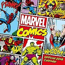 Marvel Comics Classic Official 2018 Calendar - Square Wall Format