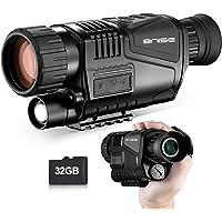 Vision Nocturne Monoculaire 8x40 Caméra Numérique Infrarouge HD avec Lecture vidéo Fonction de Sortie USB pour la Chasse…