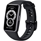 HUAWEI Band 6 Fitness Tracker Smartwatch for Men Women, 1.47''AMOLED Color Screen, SpO2,24H Heart Rate Monitor,14 Days Batter