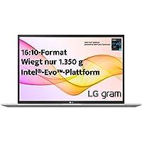 LG gram 17 Zoll Ultralight Notebook 2021 Edition - 1,35 kg leichter Intel Core i7 Laptop (16GB LPDDR4, 1 TB SSD, 19,5 h…