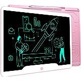 Richgv Tavoletta Grafica LCD Writing Tablet, 15 Pollici Elettronico Tablet da Scrittura Digitale, Portatile Tavoletta da Dise