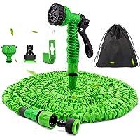 Expandable Garden Hose 100FT - Flexible Magic Hosepipes Hose Pipe No-Kink with 7 Function Spray Gun, 30M Expanding…