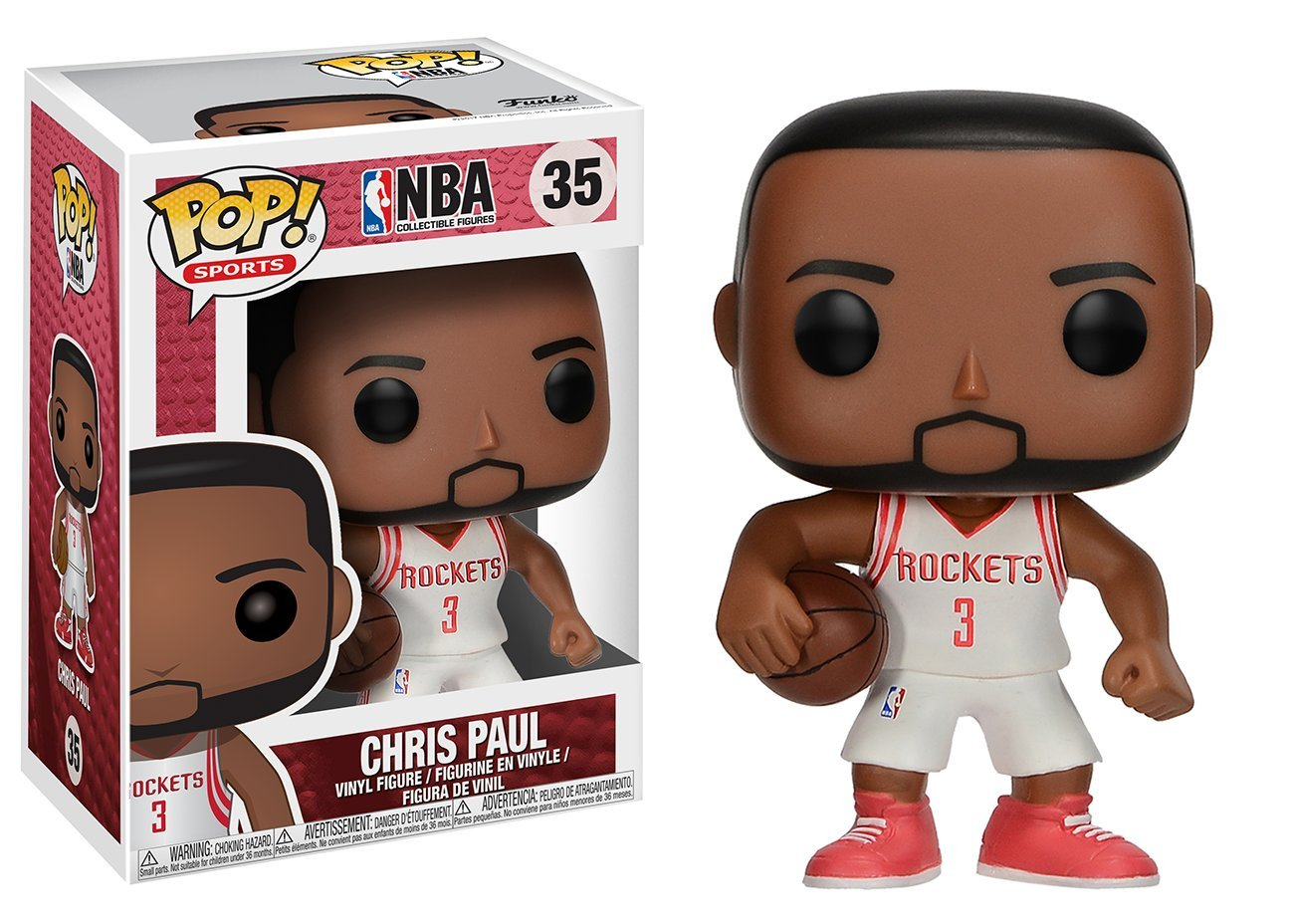 Funko Pop Chris Paul Houston Rockets (NBA 35) Funko Pop NBA