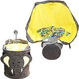 Rensande väska för barn, barn städväska lekfilt leksak förvaringsväska lekmatta utomhus leksak snabb förvaring väska för barn