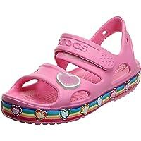 Crocs Unisex Kid's Fun Lab Rainbow Sandal