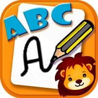 Lernen Sie ABC zu schreiben