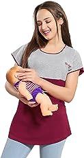 AV2 Women's Cotton Feeding Nursing and Maternity Top