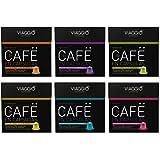 VIAGGIO ESPRESSO - 60 capsules de café compatibles avec Nespresso - SÉLECTION CLASSIQUE