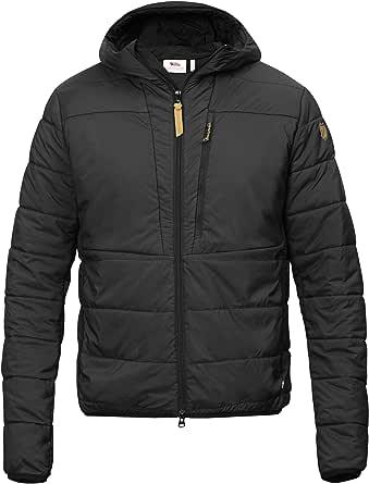 Fjallraven Men's Keb Padded Hoodie M Sport Jacket, Black, L