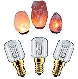 Keraiz Ampoule pour Lampe en sel de l'Himalaya, Argent, 5,83x 2,83x 0,24cm