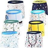 JackLoveBriefs Calzoncillos Bóxer de algodón para Niños 2-10 años (Pack de 8)