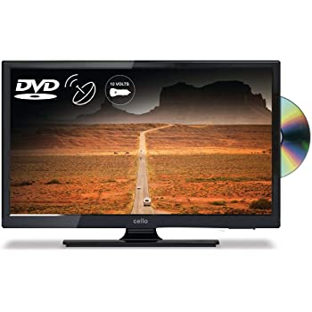 """Cello 20"""" C20230FT2S2 12 Volt Freeview HD TV with DVD for Caravans, Motorhomes & Boats (Dual Voltage TV)"""