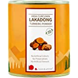 looms & weaves - High Curcumin Lakadong Turmeric Powder (200 Grams) - Directly sourced from The Farmers of Organically Grown Lakadong Turmeric in East and west Jantia Hills of Meghalaya