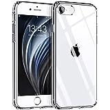 Syncwire Coque Compatible avec iPhone 8/7/SE 2020 -Transparente Housse de Protection en Silicone Rigide Anti Choc Étuis - Tra