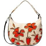 Desigual Rojonanja, borsa a tracolla da donna, colore: rosso