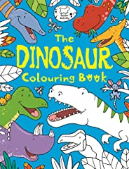 The Dinosaur Colouring Book