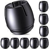 COTTONIX Stoelpootdoppen voor stoelpoten, 32 stuks, vilt, siliconen stoelpootdoppen voor ronde stoelpoten van 22-25 mm en vie