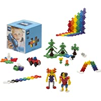 Plus-Plus - Boîte de 600 Pièces Jeux de Construction Basic, PP3310