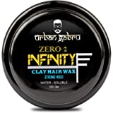 UrbanGabru Clay Hair Wax : Zero to Infinity- Strong Hold | Volume | Hair Style 100 GM