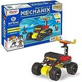 MECHANIX DIY Stem and Steam Education Metal Construction Set (Motors & Gears) for Boys & Girls (Robotix - 0)