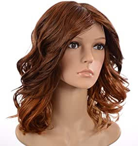 Hair By MissTresses Blonde/Brown Ombre Loose Wave Bob Wig