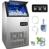 VEVOR 230W 220V Machine à Glaçons Commerciale 50kg par 24H Ice Maker pour les applications, y compris les cafés, les…