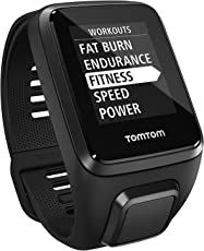 (CERTIFIED REFURBISHED) TomTom Spark 3 + GPS Fitness Sports Watch and Activity Tracker - Black