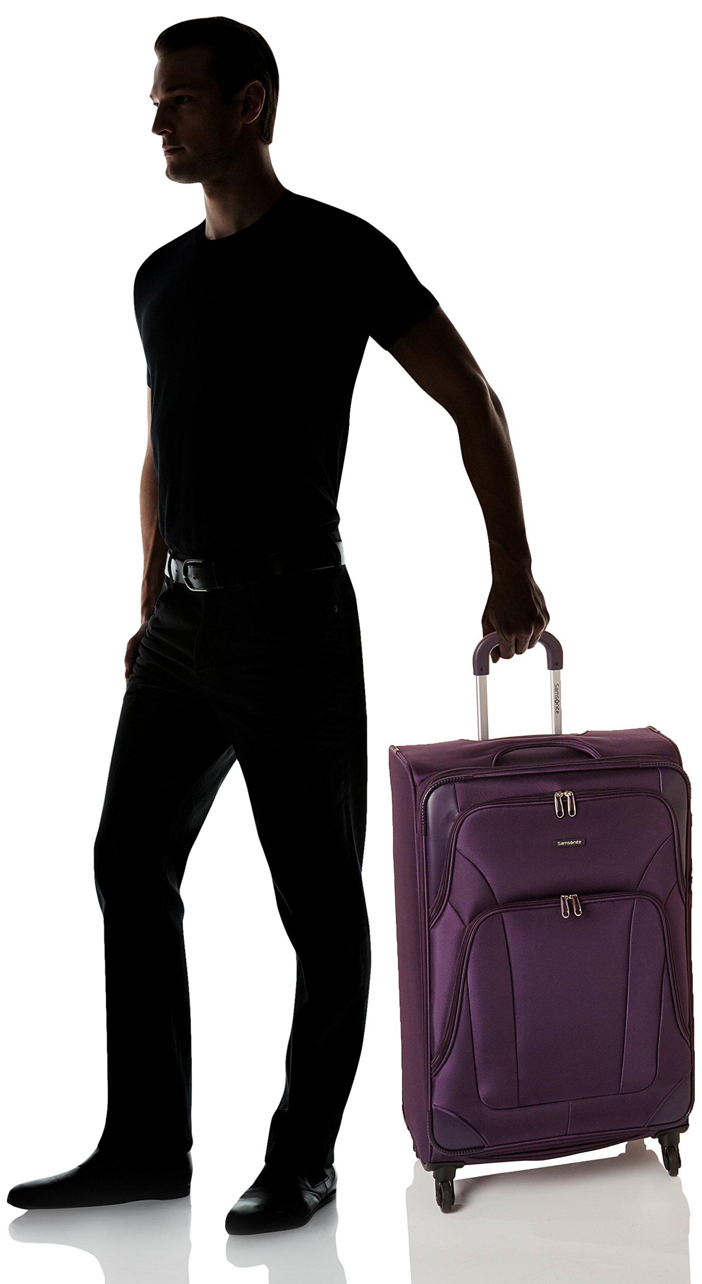 Samsonite Dakar Lite Carry-On Luggage Large Purple Travel Bag