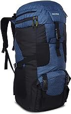 Novex Rucksacks Trek Blue Check Hiking Bag