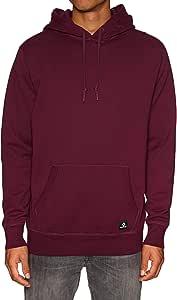 Goma Hormiga Manga  Converse ESSNTIALS Pullover Hoodie Dark Burgundy – Sweatshirt, Man, Red  (Dark Burgundy): Amazon.co.uk: Sports & Outdoors