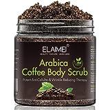 Scrub al caffè naturale con scrub corpo al caffè biologico, miglior trattamento dell'acne, anticellulite e smagliature, terap