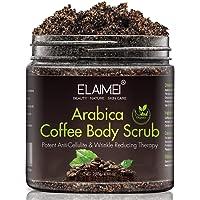 Gommage au café naturel avec gommage corporel au café biologique, meilleur traitement contre l'acné, la cellulite et les…