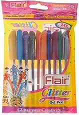 Flair Glitter Gelpen (Set Of 10 Colors)