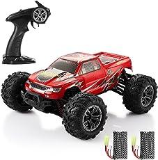 HELIFAR RC Geländewagen Funkferngesteuerte Auto 1:16 RC Crawler 4WD Motor 36 killometer / h mit Zwei Batterien Kinder / Jugendlichen
