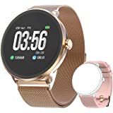 Bebinca Smartwatch Fitness Activity tracker Notifiche Facebook/Whatsapp Contapassi Pressione Sanguigna…