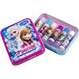 Markwins – Lip Smacker Disney Frozen Geschenkdose mit 6 Lippenpflegestiften in unterschiedlichen Geschmackrichtungen