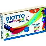 Giotto 536600 - Astuccio 12 Gessetti Policromi Robercolor Carrée