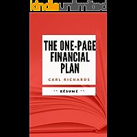 THE ONE-PAGE FINANCIAL PLAN: Résumé en Français (French Edition)